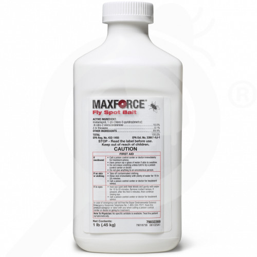us bayer insecticide maxforce fly spot bait 1 lb - 1, small