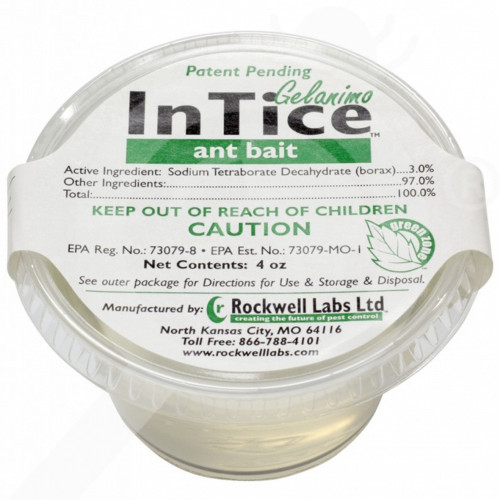us rockwell labs insecticide intice gelanimo ant bait 4 oz - 1, small