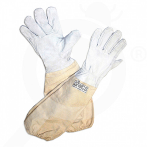 us wcs safety equipment sting resistant leather gloves l - 1, small