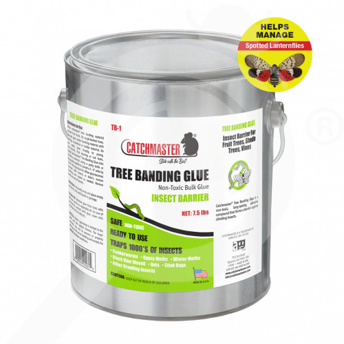 us catchmaster trap tree banding glue 7 5 lbs - 1, small