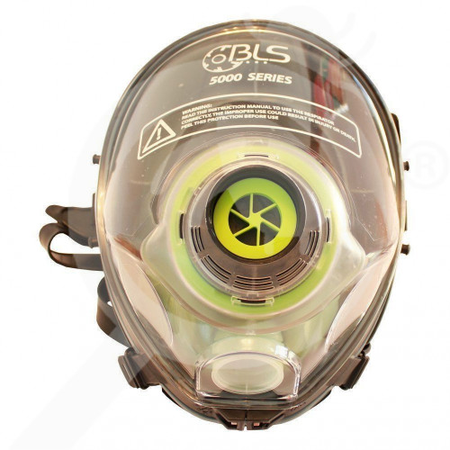us bls safety equipment 5000 series full face mask - 1