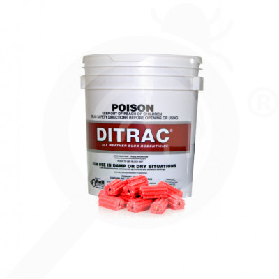 au bell lab rodenticide ditrac block 1 8 kg - 2