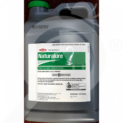 au dow agrosciences insecticide crop fruit fly naturalure 10 l - 1, small