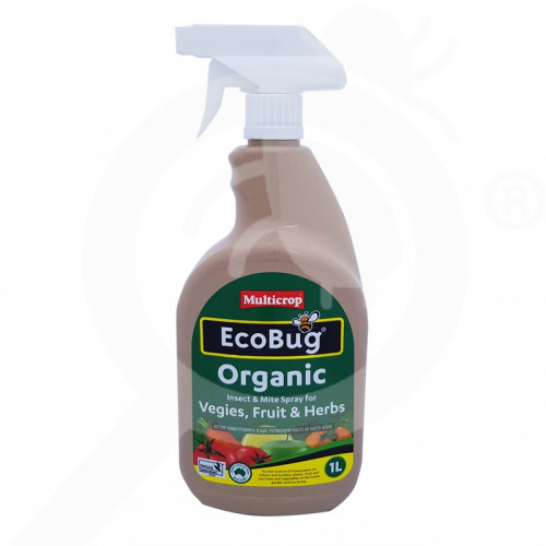 au multicrop insecticide crop eco bug organic rtu 1 l - 1, small