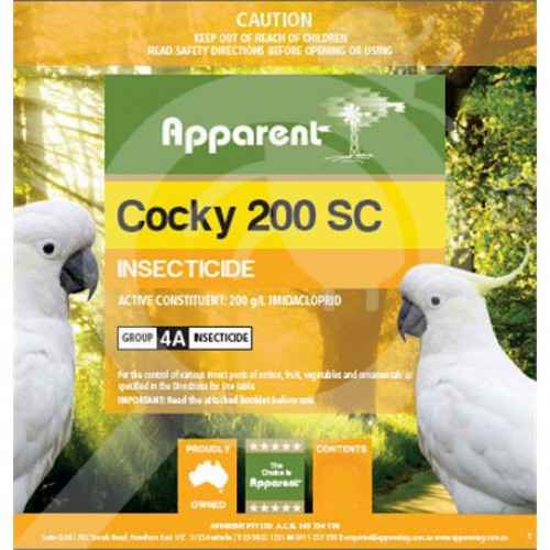 au apparent insecticide crop cocky 200 sc 1 l - 1, small