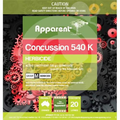 au apparent herbicide concussion 540 5 l - 1, small
