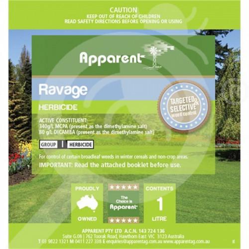 au apparent herbicide ravage 1 l - 1, small