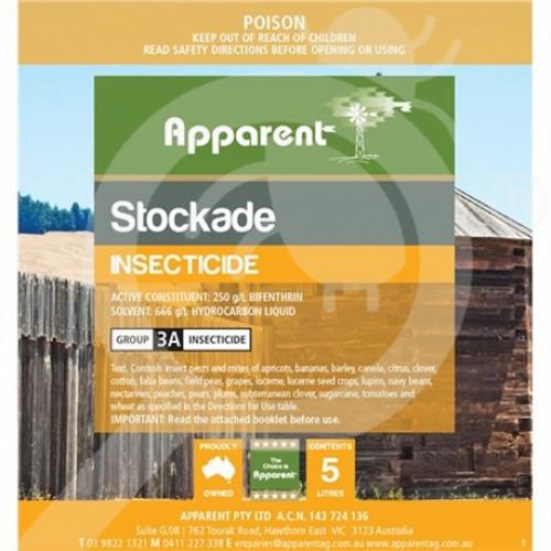 au apparent insecticide crop stockade 5 l - 1, small