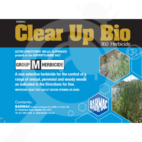 au barmac industries herbicide clear up bio 5 l - 2, small