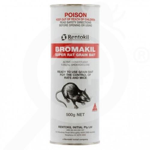 au rentokil rodenticide bromakil grain bait 500 g - 1, small