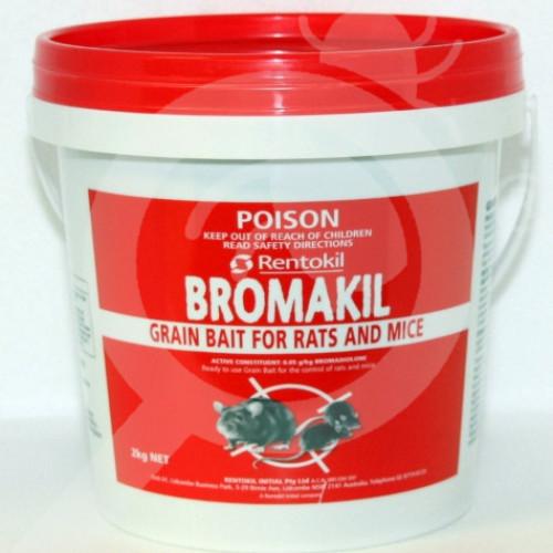 au rentokil rodenticide bromakil grain bait 2 kg - 1, small