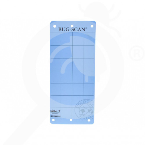 au biobest group adhesive bug scan blue 10 x 25 cm - 1, small