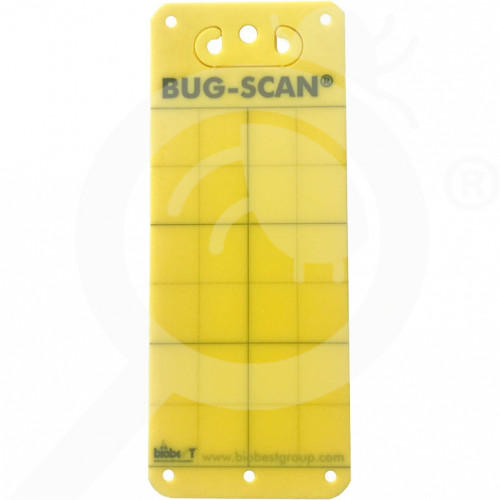 au biobest group adhesive bug scan yellow 10 x 25 cm - 2, small