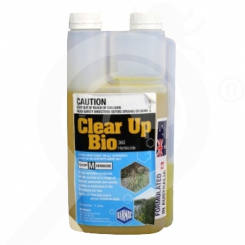au barmac industries herbicide clear up bio 1 l - 1, small