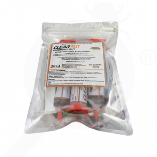 au swca insecticide clearout cockroach bait 3x35 g - 2, small