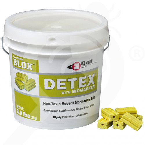 au bell laboratories trap detex blox 4 kg - 1, small