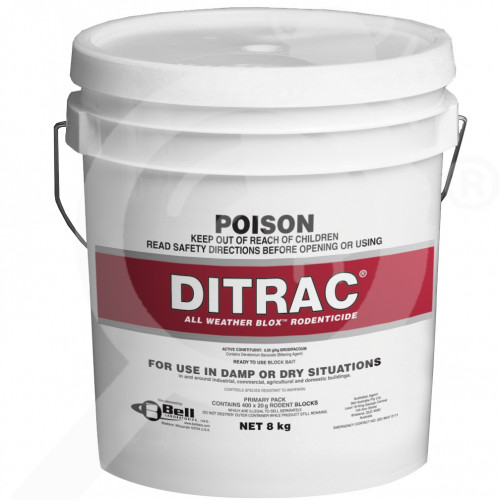 au bell labs rodenticide ditrac blox 8 kg - 1, small