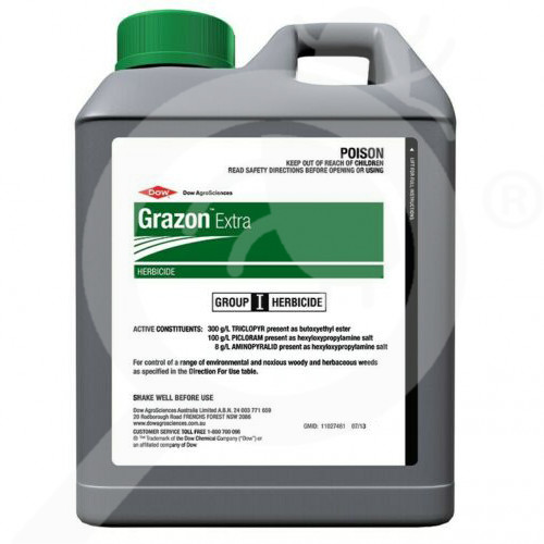au dow agro herbicide grazon extra 5 l - 1