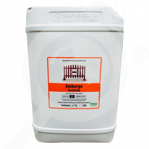 au turf culture herbicide embargo 5 l - 1