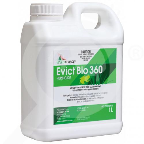 au weedforce herbicide evict bio 360 1 l - 1, small