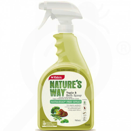 au yates insecticide crop vegie and herb pest spray rtu 750 ml - 1, small