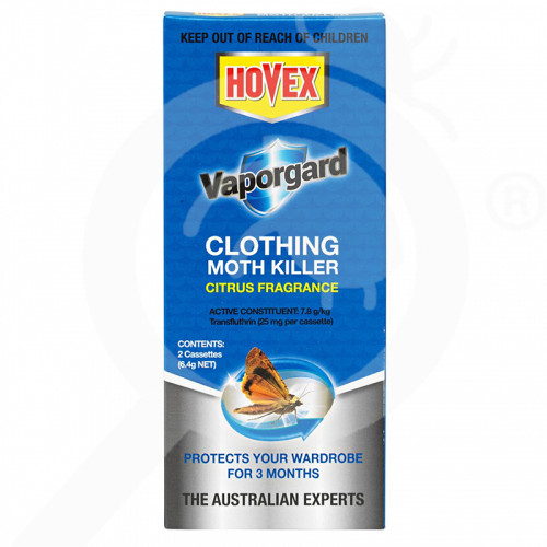 au hovex insecticide vaporgard clothing moth killer 2 p - 1, small