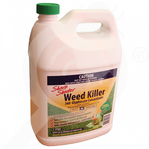 au sharp shooter herbicide weed killer 360 concentrate 5 l - 1, small