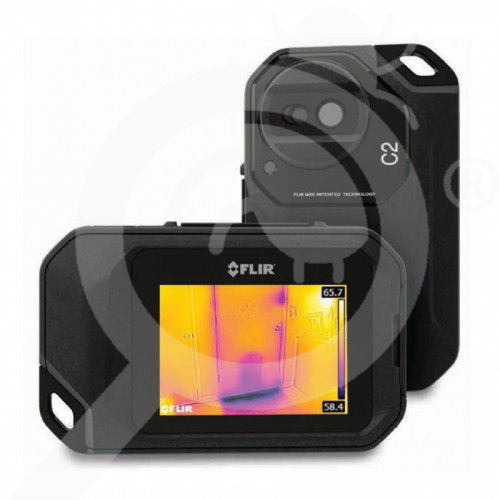 au flir systems special unit c5 compact thermal camera - 2, small