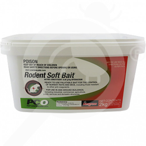 au amgrow rodenticide pco soft bait 2 kg - 2, small