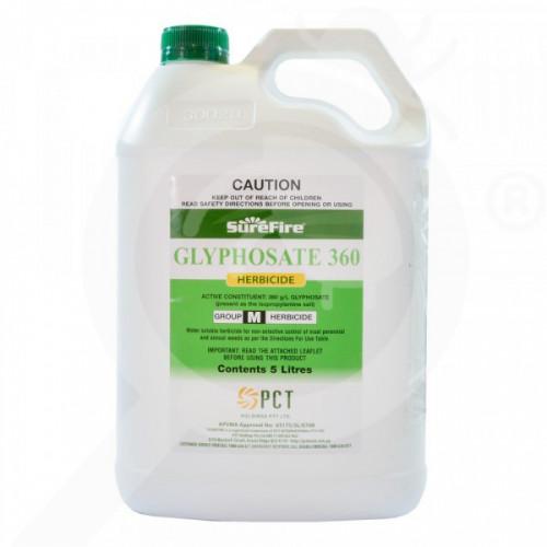 au pct herbicide surefire glyphosate 360 5 l - 1, small