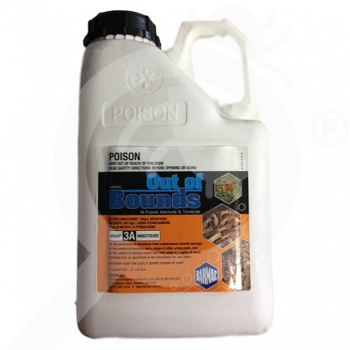 au barmac industries insecticide out of bounds 5 l - 2, small