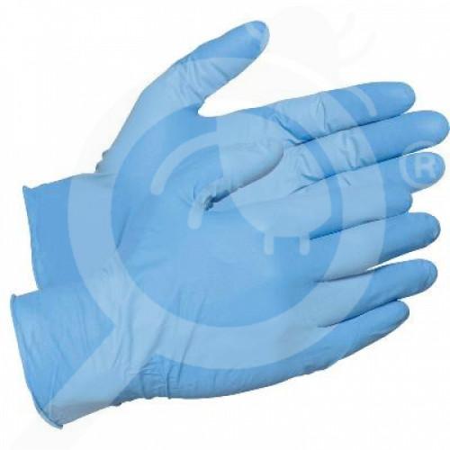 au globe australia protective gloves gloves nitrile poweder free - 1, small