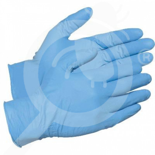au globe australia protective gloves nitrile powder free m - 1, small