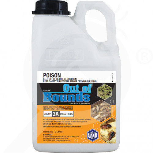 au barmac industries insecticide crop out of bounds 1 l - 1, small