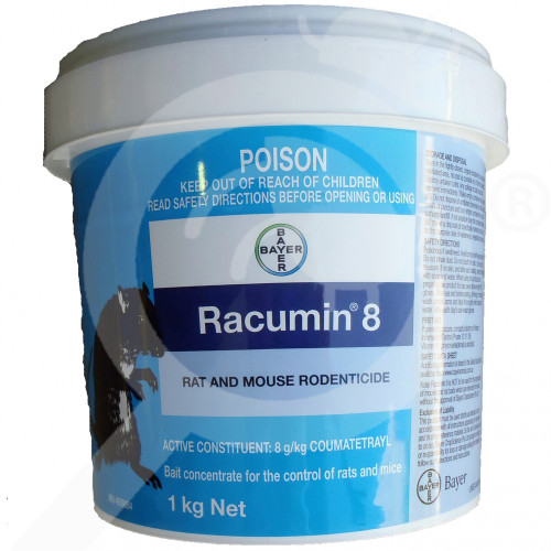 au bayer rodenticide racumin 8 tracking powder 1 kg - 1, small