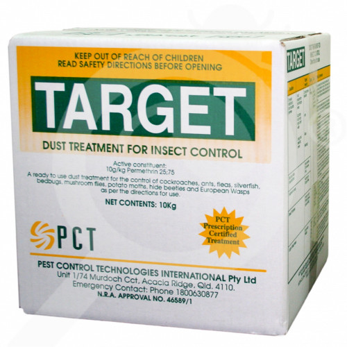 au pct insecticide target dust 10 kg - 1, small