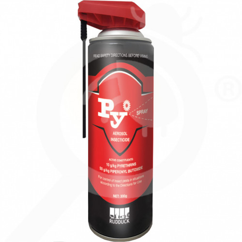 au rudduck insecticide py spray 300 g - 1, small