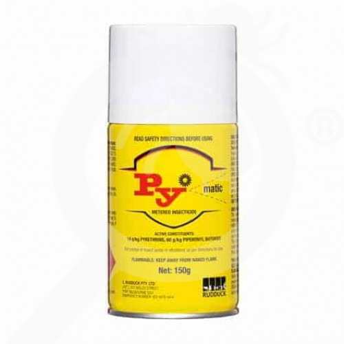 au rudduck insecticide py matic metered aerosol - 1, small