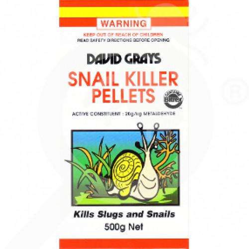 au david grays insecticide crop snail killer pellets 1 kg - 1, small