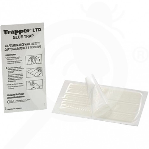 au bell lab trap trapper glue ltd mouse set of 72 - 1, small