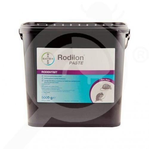 au bayer rodenticide rodilon paste 5 kg - 1