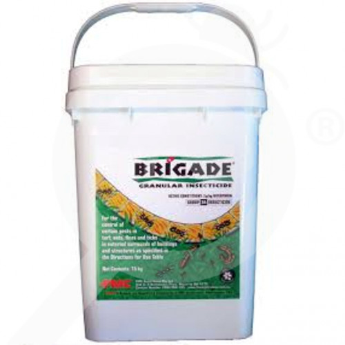au fmc insecticide brigade granular 15 kg - 2