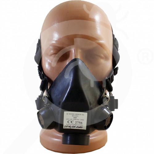 ua romcarbon safety equipment half mask srf - 0, small