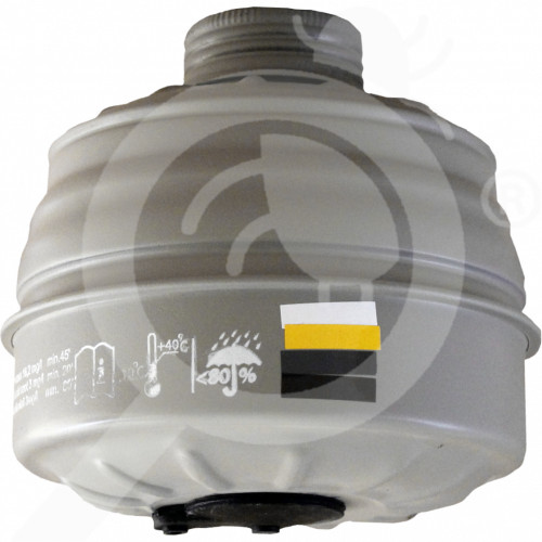 ua romcarbon safety equipment gas mask filter p3r a2b2e1 - 0, small