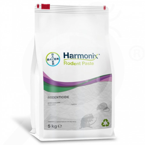 ua bayer rodenticide harmonix rodent paste 5 kg - 0, small