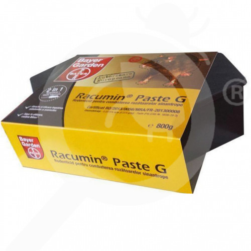 ua bayer rodenticide racumin paste g 800 g bait station - 3, small