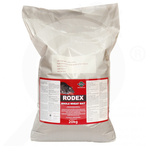 ua pelgar rodenticide rodex whole wheat 20 kg - 1, small