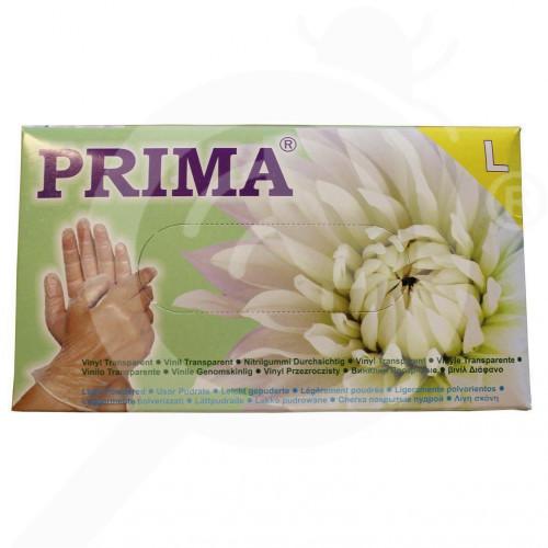 ua prima safety equipment vinyl gloves 100 p - 2, small