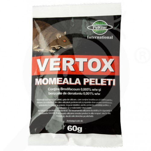 ua pelgar rodenticide vertox pellet 60 g - 1, small
