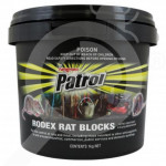 nz adama rodenticide patrol rodex rat block 10 kg - 0, small